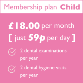 Hartog Dental Membership Plan Child