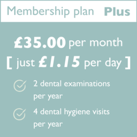 Hartog Dental Membership Plan PLUS